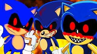 СОНИКИ.EXE ПОВСЮДУ ! МНОГО СОНИКОВ.EXE ! - Sonic.Exe: The Revenge of Exeller / Соник.Exe