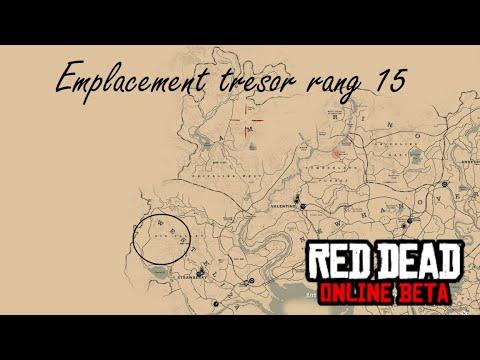 Carte Au Tresor New Bone.Emplacement Tresor Rang 15 Blackbone Forest Rdr2 Online