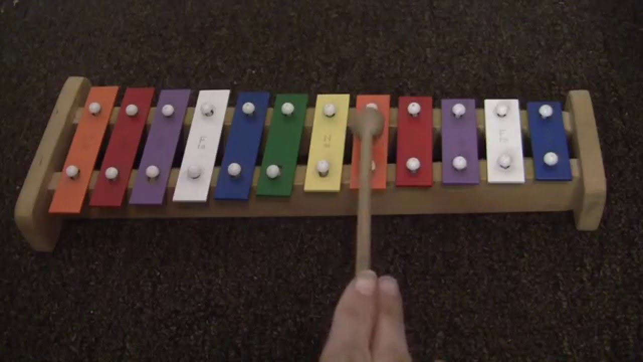 ASMR The Glockenspiel (or Xylophone)