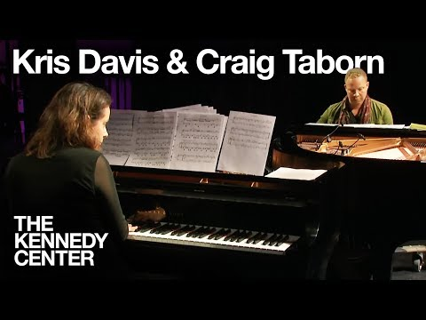 Kris Davis and Craig Taborn   LIVE at the Kennedy Center