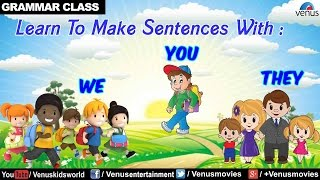 We, You & They - English Grammar for Kids