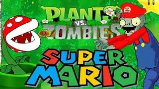 Repeat youtube video Plants vs  Zombies Mario Parody