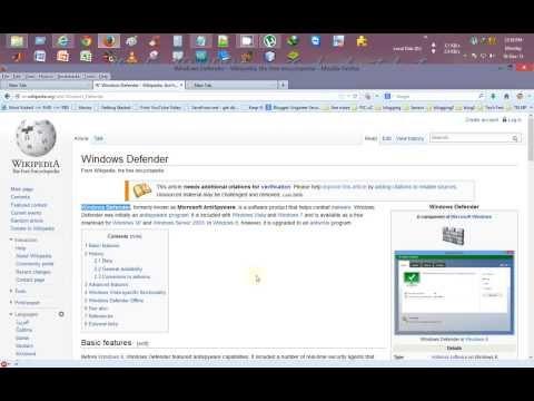 Update Windows Defender Offline with Latest Virus Definition Updates