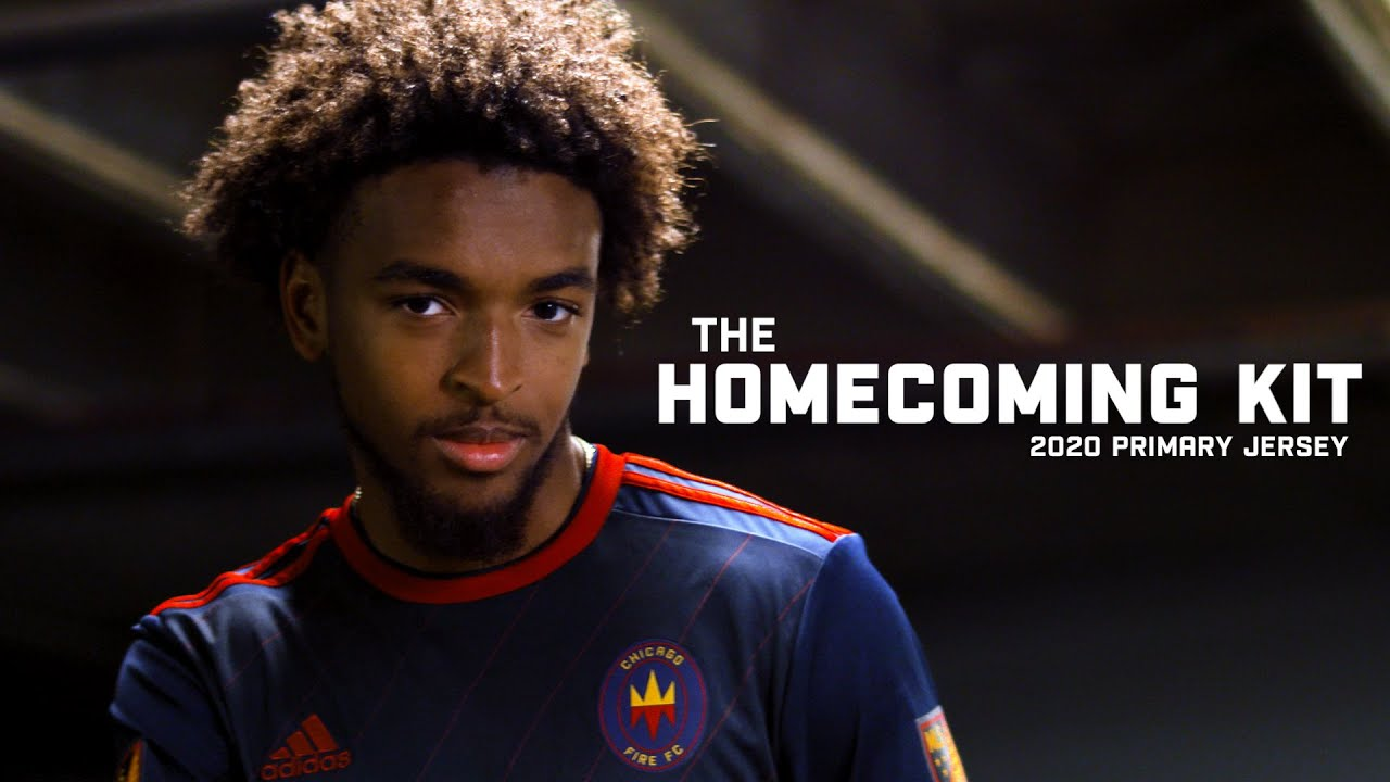 Chicago Fire Fc 2020 Primary Jersey Unveiled Youtube