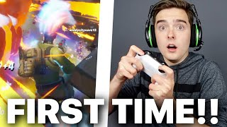 Playing Fortnite for the FIRST TIME!! (Hilarious!)