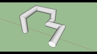 Sketchup # 07 - Sweep/ Follow me Command