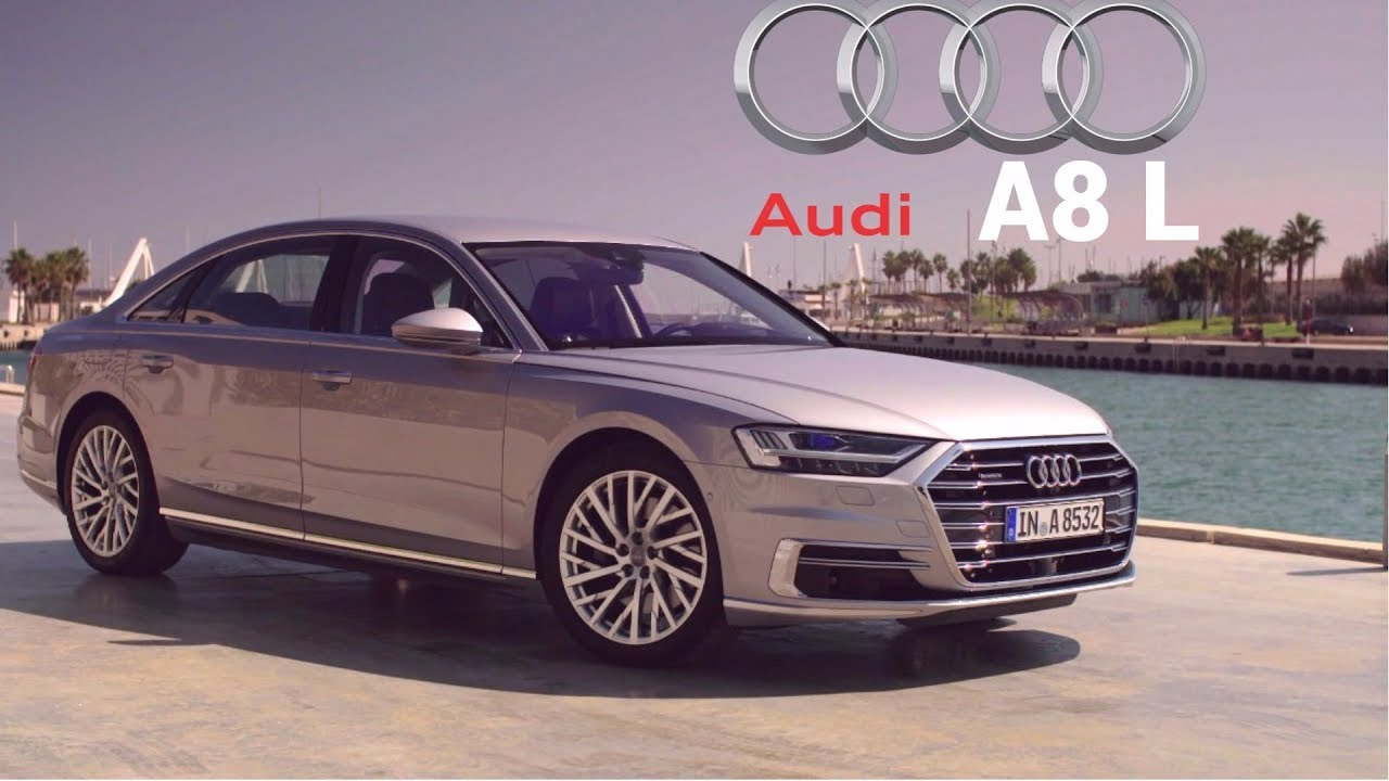 2019 audi a8 l 55 tfsi powered by a 340 hp 3 0 liter turbo v 6 youtube. Black Bedroom Furniture Sets. Home Design Ideas