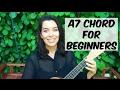 Ukulele school a7 chord tutorial mp3