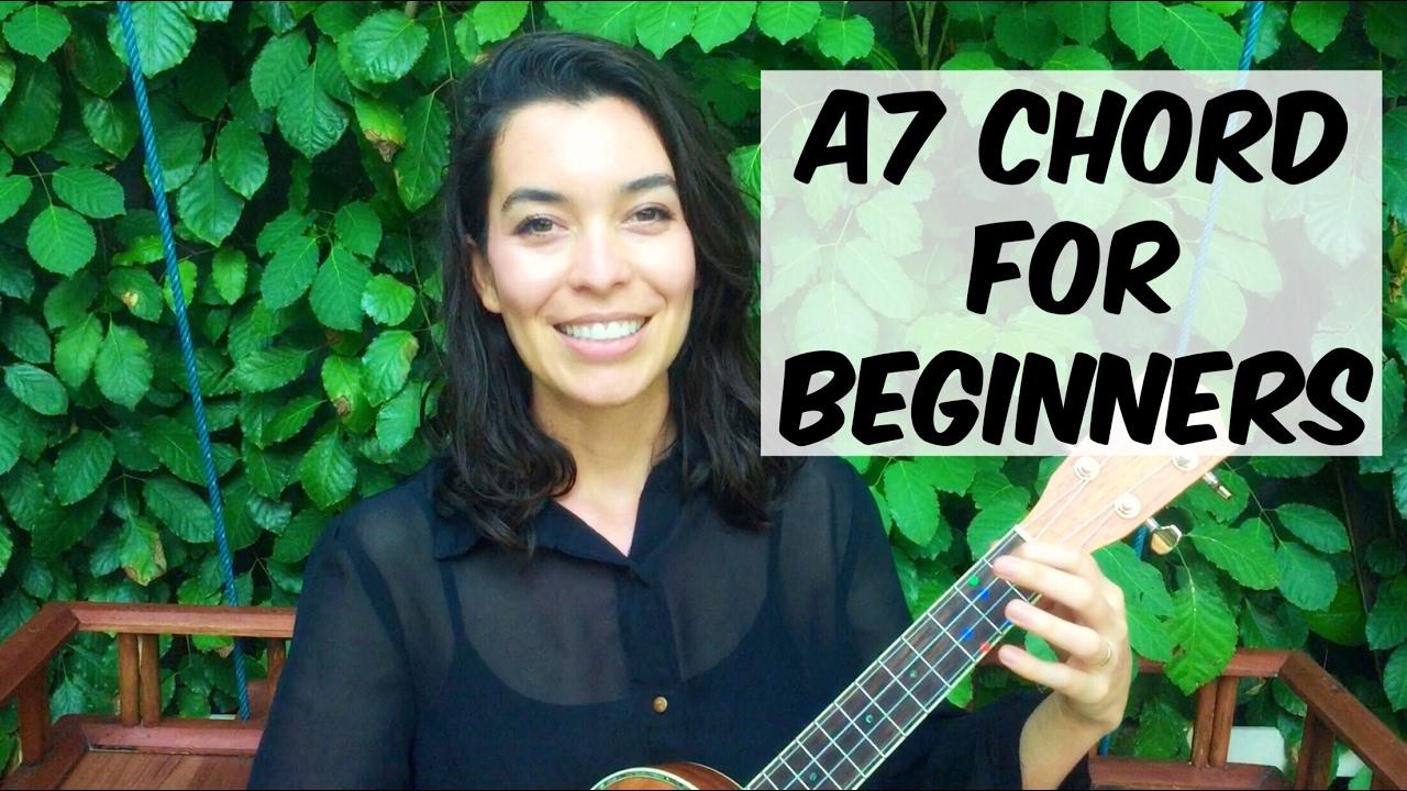 Ukulele School - A7 Chord Tutorial - YouTube