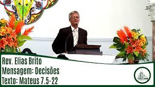 Decisões   Rev. Elias Brito   IPBV