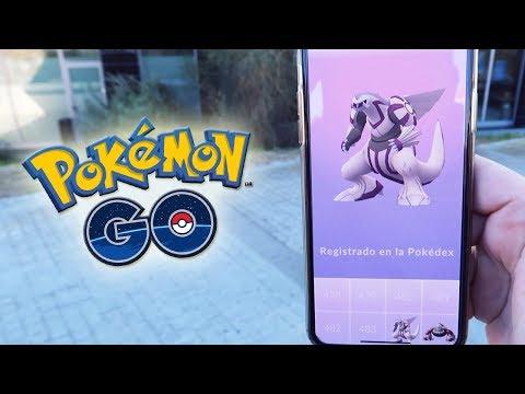 ¡CAPTURO PALKIA! NUEVO POKÉMON LEGENDARIO de 4GEN en Pokémon GO!! [Keibron] thumbnail