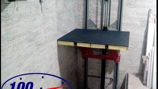 видео Самодельный лифт на даче, в загородном частном доме