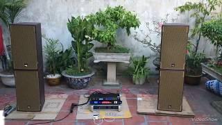 Test dàn karaoke : cục đẩy yamaha P7000S và Vang số JBL KX9200 có đánh được 4 loa DK X6 bass 30 ko?