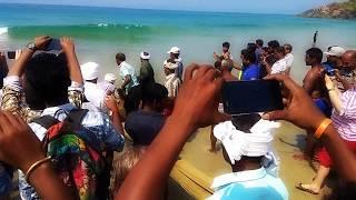 WOW!!! Amazing kerala people fishing from Kovalam Beach......