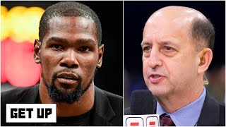 Jeff Van Gundy on Kevin Durant possibly returning for the NBA's 22-team restart | Get Up