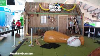 Billy's Boat Shack Installation Miami Marlings Timelapse Video