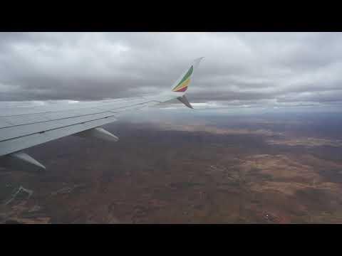 Flight Addis Ababa Ethiopia to Antananarivo Madagascar