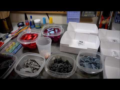 Tutorial: Building Gundam Resin Kits part 01