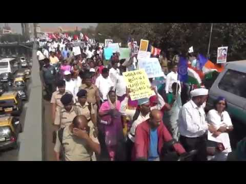 Massive Rally in Mumbai   Justice for Rohith Vemula