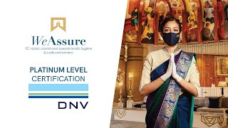 ITC Hotels' commitment to your well-being