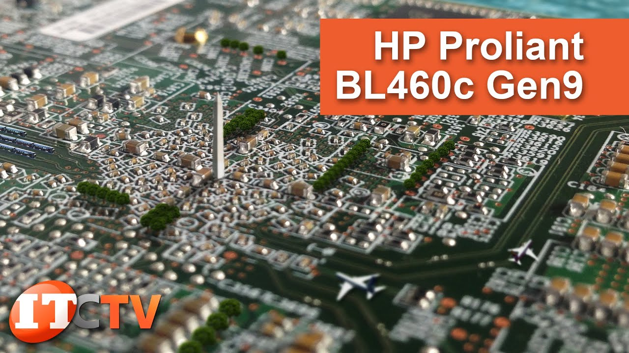HPE ProLiant BL460c Gen9 Server Blade | IT Creations
