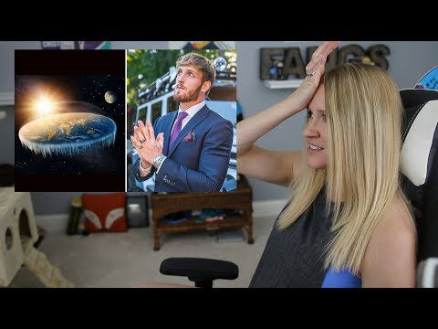THE FLAT EARTH: To The Edge And Back (Logan Paul) | My Reaction
