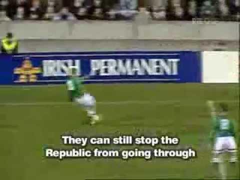 Alan McLoughlin Goal Republic Of Ireland