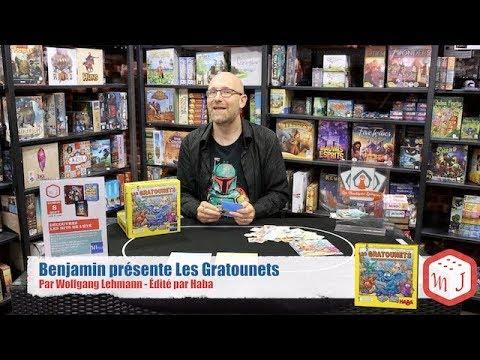 Benjamin présente Les Gratounets