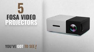 Top 10 Fosa Video Projectors [2018]: Fosa Mini Projector Portable 1080P LED Projector Home Cinema