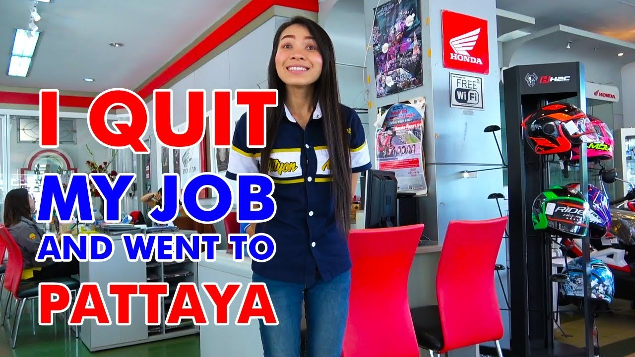 I Quit my Job and went to Pattaya, Thailand - Part 3 - Buying a Motorbike