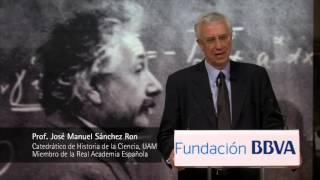 Conferencia del Prof. Sánchez Ron sobre Einstein en la Fundación BBVA