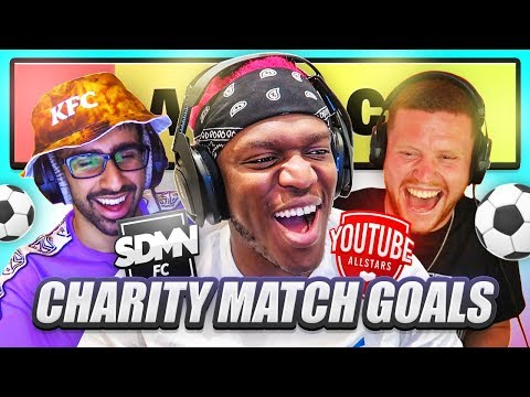 WHO SCORED THE BEST CHARITY MATCH GOAL?