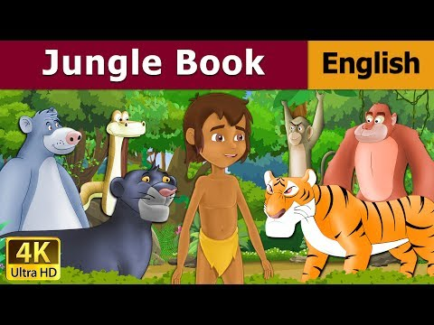 Jungle Book in English - Bedtime stories - 4k UHD - English Fairy Tales