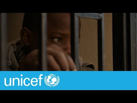 Life in a detention centre in Libya: Jon's story | UNICEF