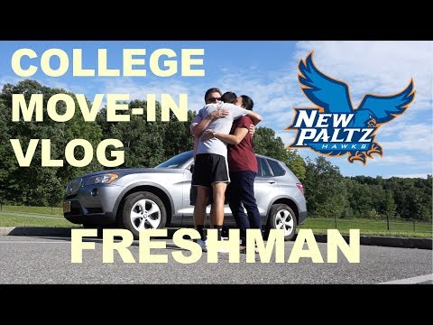 COLLEGE MOVE IN VLOG 2018 (Freshman year) | Suny New Paltz