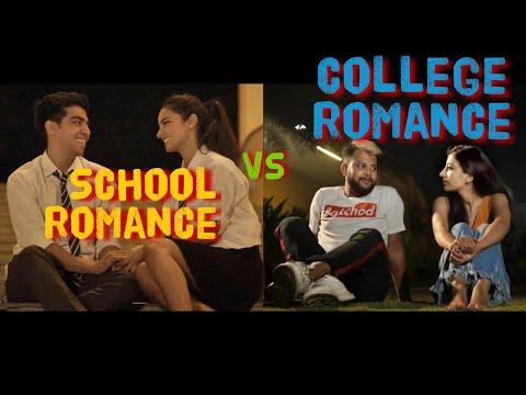 School Romance VS College Romance |School College ka Pyaar - ODF