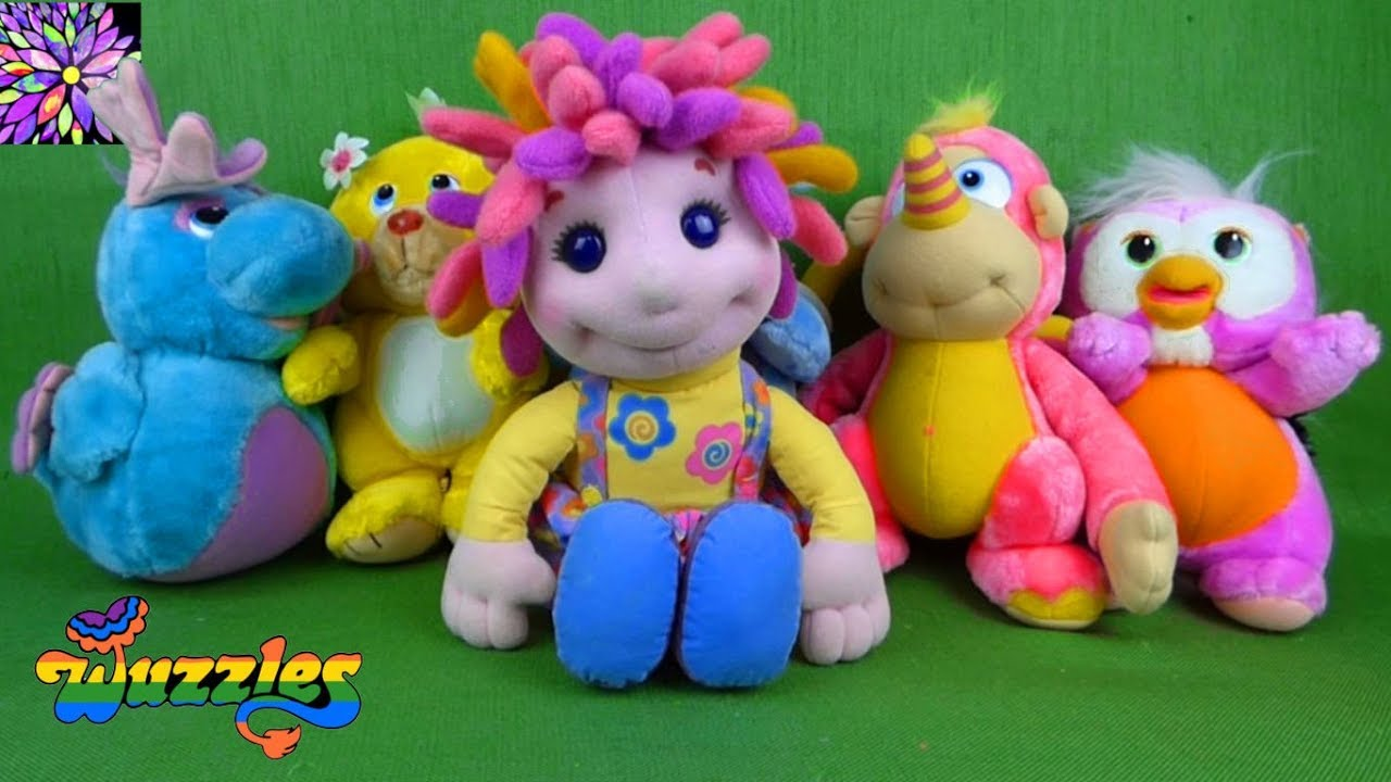Nick Jr Allegras Window Talking Doll Disney Wuzzles Mixed Up