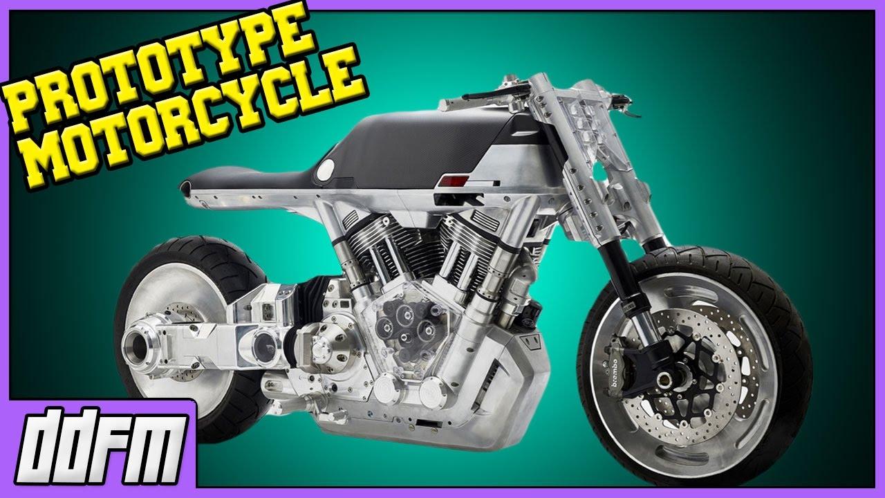 Vanguard Moto Crowdfunding Project / Prototype Motorcycle - YouTube