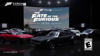 10 машин из фильма Форсаж 8 для игры Forza Motorsport 7!