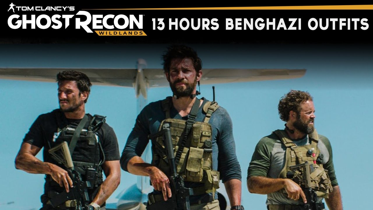 Benghazi >> Ghost Recon Wildlands - How to make 13 Hours Benghazi Outfits (Jack, Oz, Rone, Tanto, etc ...