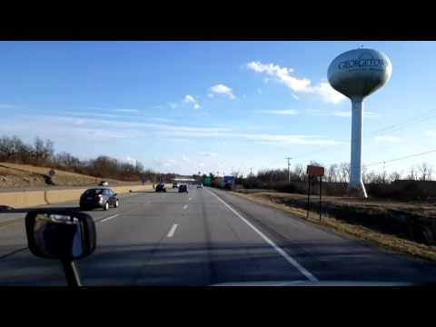 Bigrigtravels Live! - Georgetown to Nicholasville, Kentucky - February 12, 2017