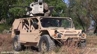AUSA 2016: General Dynamics Flyer Light Reconnaissance Vehicle (LRV)