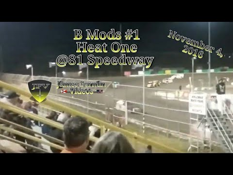 B Mod Heat Race 1, #1, 81 Speedway