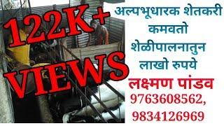 LAXMAN PANDAV Goat Farming Success story /लक्ष्मण पांडव शेळी पालन यशोगाथा