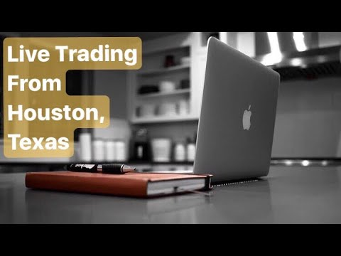 Live Trading From Houston, Texas | Trading Profits