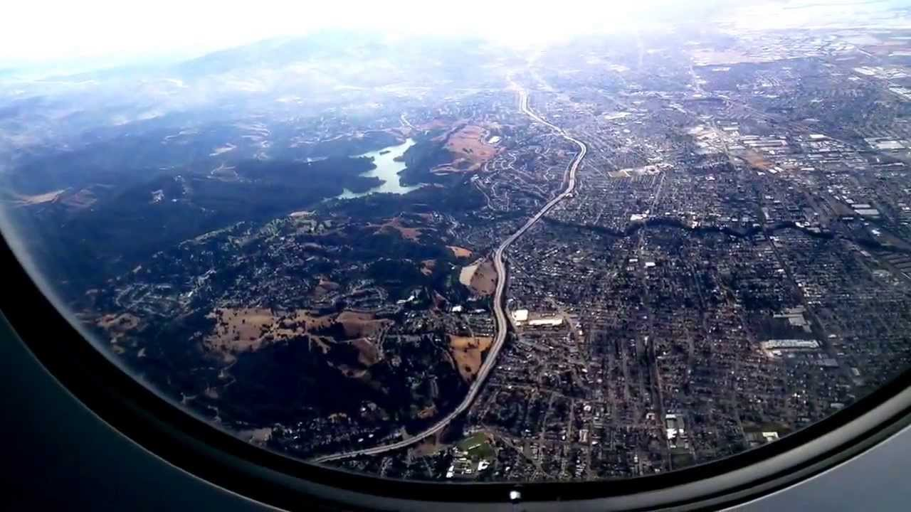 Airplane Takeoff Window View Youtube