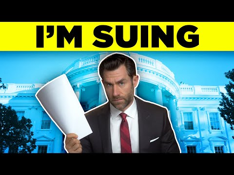 I'm Suing the White House, CIA, and DOJ.  Really.