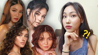 Former KPOP Idol Reacts to Top Filipina Celebrities