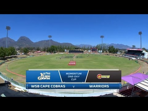Momentum One-Day Cup | WSB Cape Cobras vs Warriors