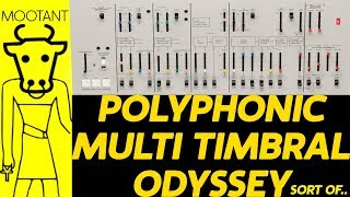 POLYPHONIC ARP ODYSSEY - Entire Tune Made From The Arp